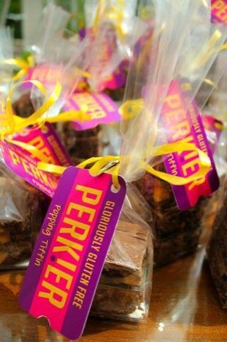 "Perkler  Tiffin  - ""Ticket to life"" branding concept for gluten free range"