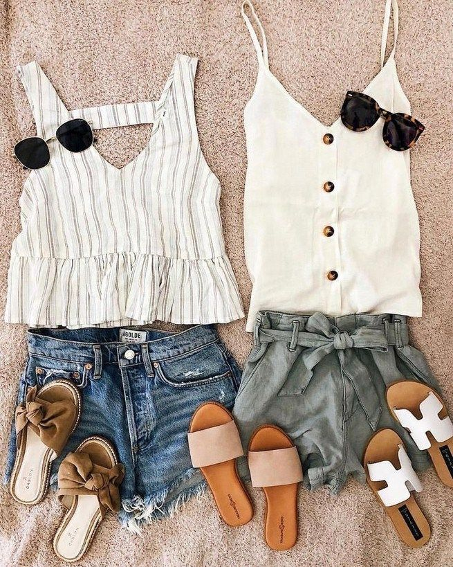 23 Cute Spring And Summer Outfit Ideas With Flat Shoes – Get Real Likes