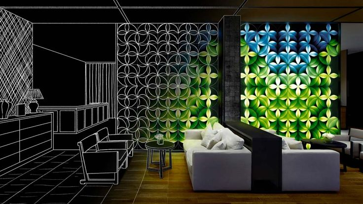 #project #moonflower #led #wall #design #livingroom #interiors
