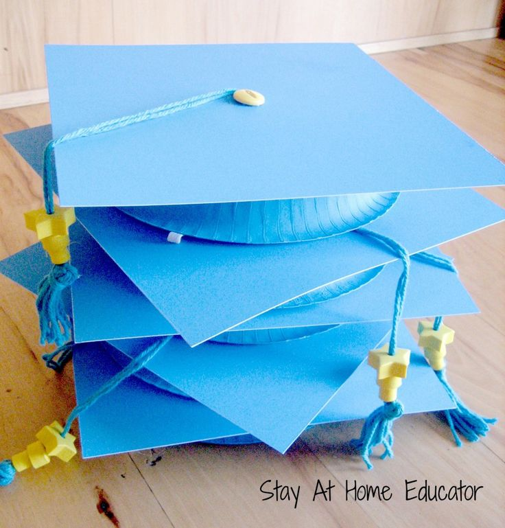Graduation caps for preschool - Stay At Home Educator