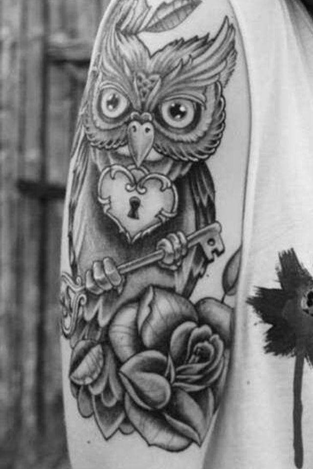 90a32d6abe459 I love the idea of having the heart lock | Tattoo ideas | Key tattoos, Half  sleeve tattoos designs, Tattoo sleeve designs