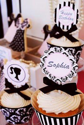 Cute Cupcake Decoration Idea