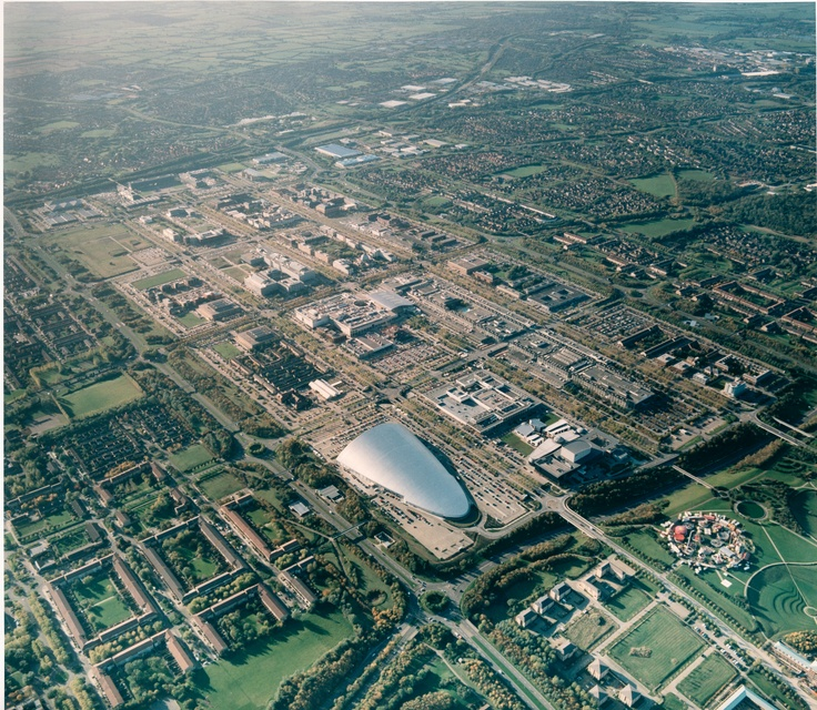 milton keynes from above