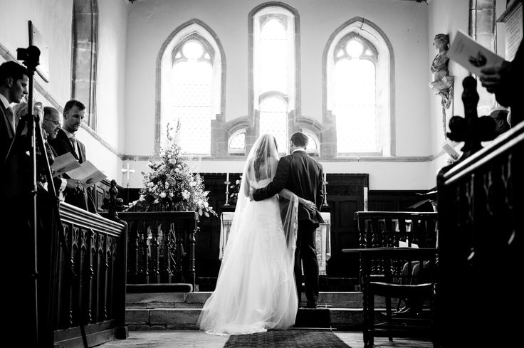 Enzoani Church Wedding Countryside  Lace Marriage
