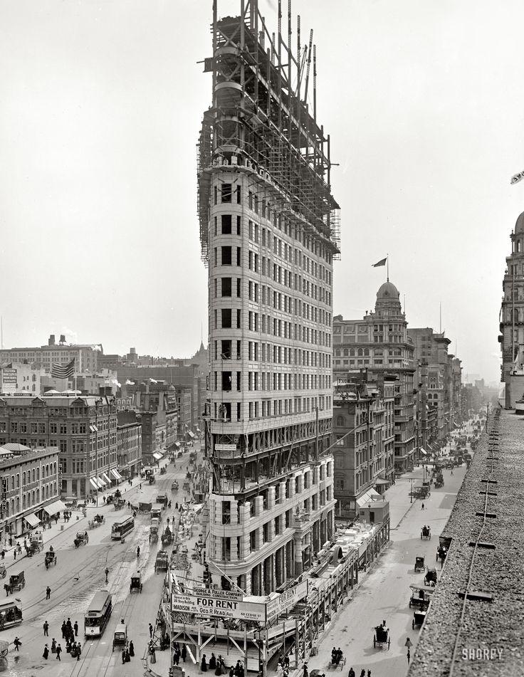 The birth of The Flatiron. 1902