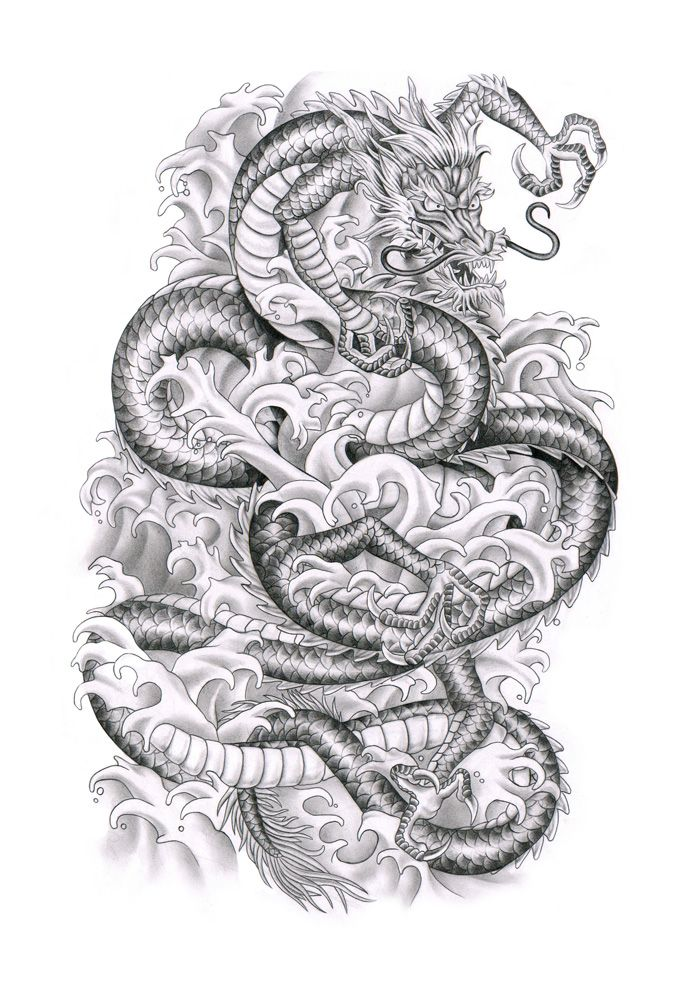 chinese dragon tattoo designs | Chinese dragon by ca5per on deviantART