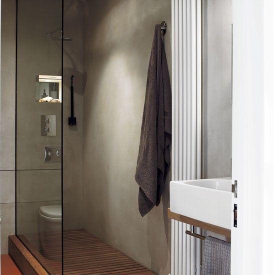 Polished concrete bathroom walls. 10  images about Bathroom on Pinterest   Polished plaster