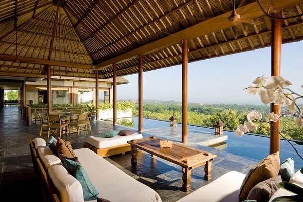 Longhouse, Bali, Indonesia
