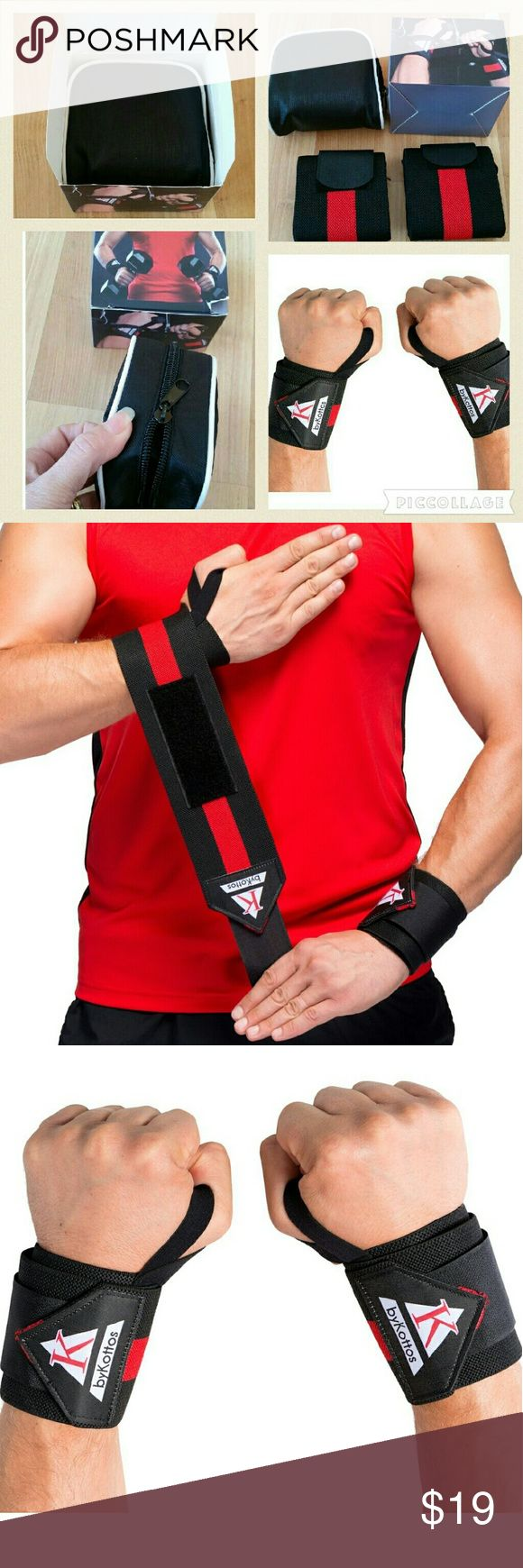 ADJUSTABLE WRIST SUPPORT BRACES BRAND NEW : Wrist Wraps Weight Lifting + Zipper Pouch-Full Protection Strength Straps-Adjustable Wrist Support Braces for Safe Weightlifting, Powerlifting Crossfit Wrist Wraps for Bodybuilding  CHECK OUT MY OTHER LISTINGS FOR MORE BRAND NEW VARIETY ITEM'S WITH STILL ON EACH ORIGINAL PACKAGING! ! AND GET DISCOUNT WHEN BUNDLING,PLEASE MESSAGE ME ANYTIME WITH THE ITEMS YOU LIKE THEN I WILL MAKE SPECIAL BUNDLE FOR YOU..HAPPY SHOPPING! ! !  NOTE : MORE FITNESS…