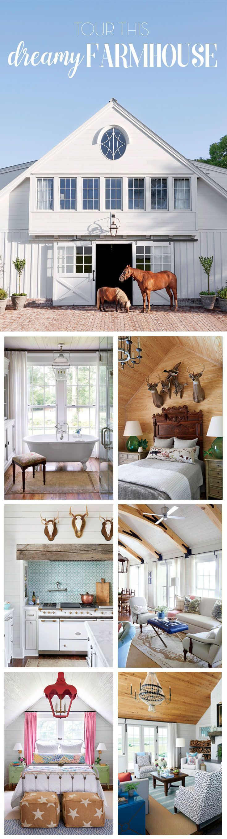 After spotting her dream property, this homeowner worked to turn the once-ramshackle cottage into a family farmhouse.