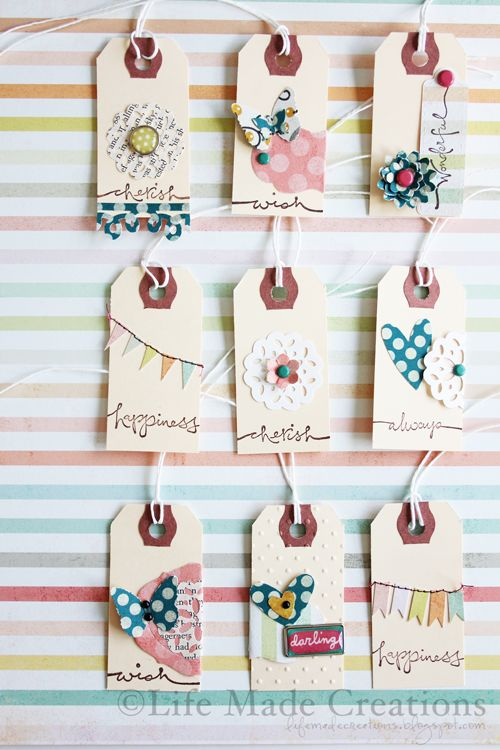 Life Made Creations: Handmade Embellishments **thanks so much for pinning me ♥