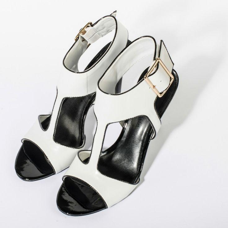 T Bar Heels - White - Heels - Shoes | CHARLES & KEITH