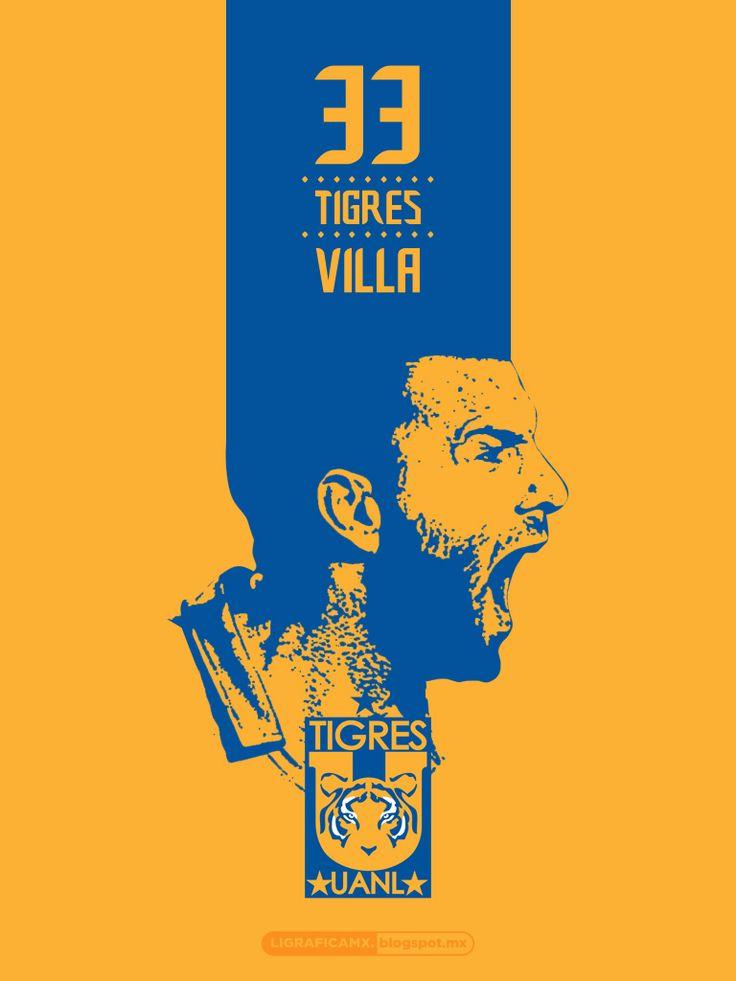 #EmanuelTitoVilla #Tigres #UANL #Incomparable #LigraficaMX ...