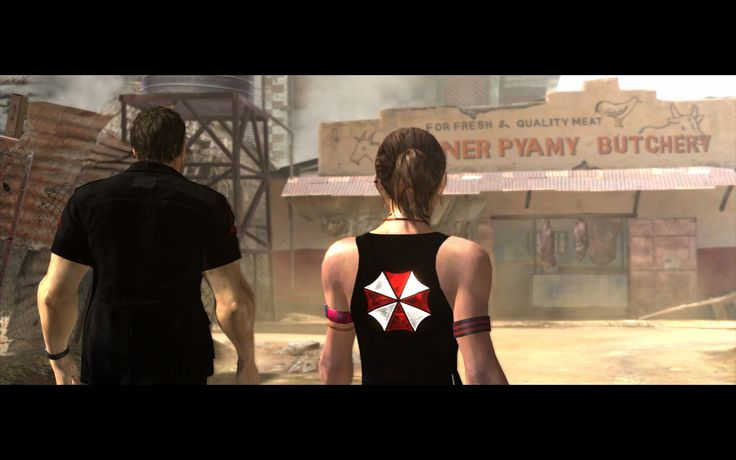 Umbrella Characters Pack / Screen 003 / Mods for Resident Evil 5(RE5) / Characters - Chris BSAA and Sheva BSAA
