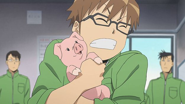 6. Silver Spoon | The 11 Greatest Anime Series Of The Year {{ The first season made me VERY happy! }}
