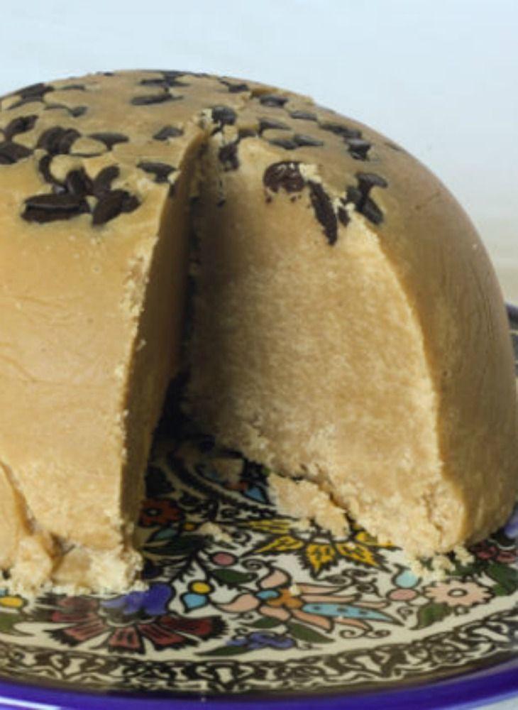 Coffee halvah recipe. A wonderful Israeli treat, that goes great with ice cream.