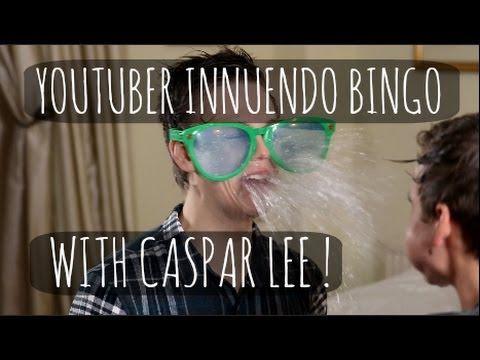 YOUTUBER INNUENDO BINGO WITH CASPAR LEE! - YouTube  hands down one of my favorite videos EVER