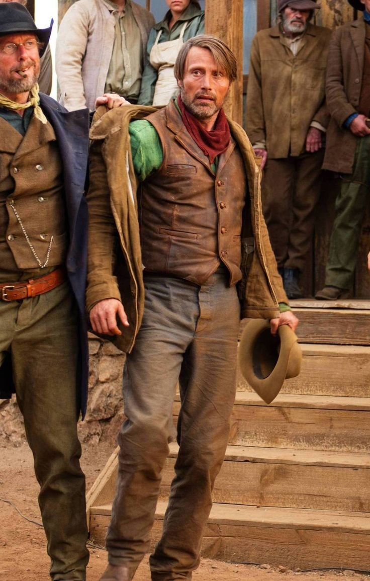 """Mads Mikkelsen as Jon in the movie, """"The Salvation"""" (2015)."""