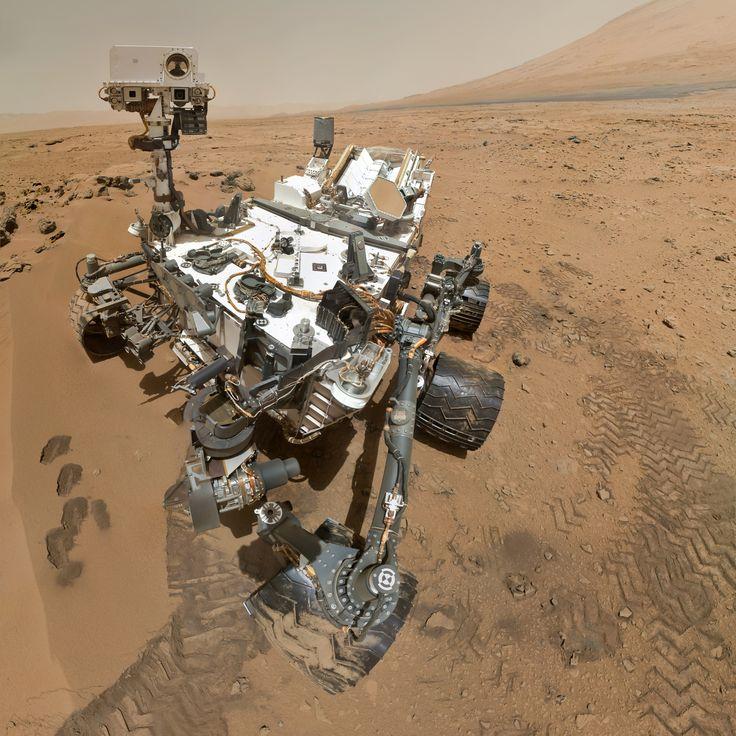 curiosity rover self port