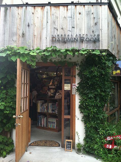 Darwin Room shop in Shimokitazawa by amanda.mccreary, via Flickr