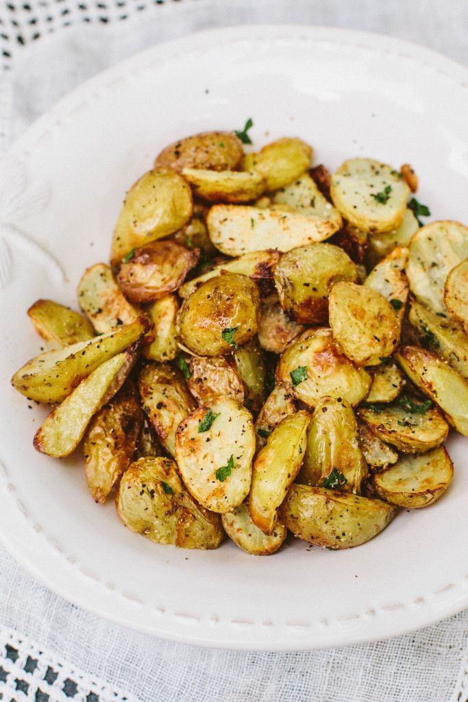 Oil-Free Crispy Potatoes