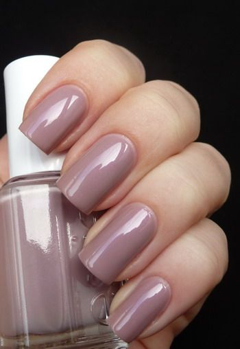 Essie Demure Vixen; Clean and pretty