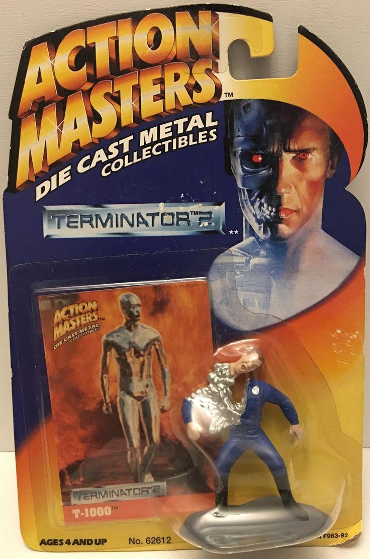 (TAS032913) - 1994 Kenner Action Masters Die-Cast Terminator 2 - T-1000 Figure