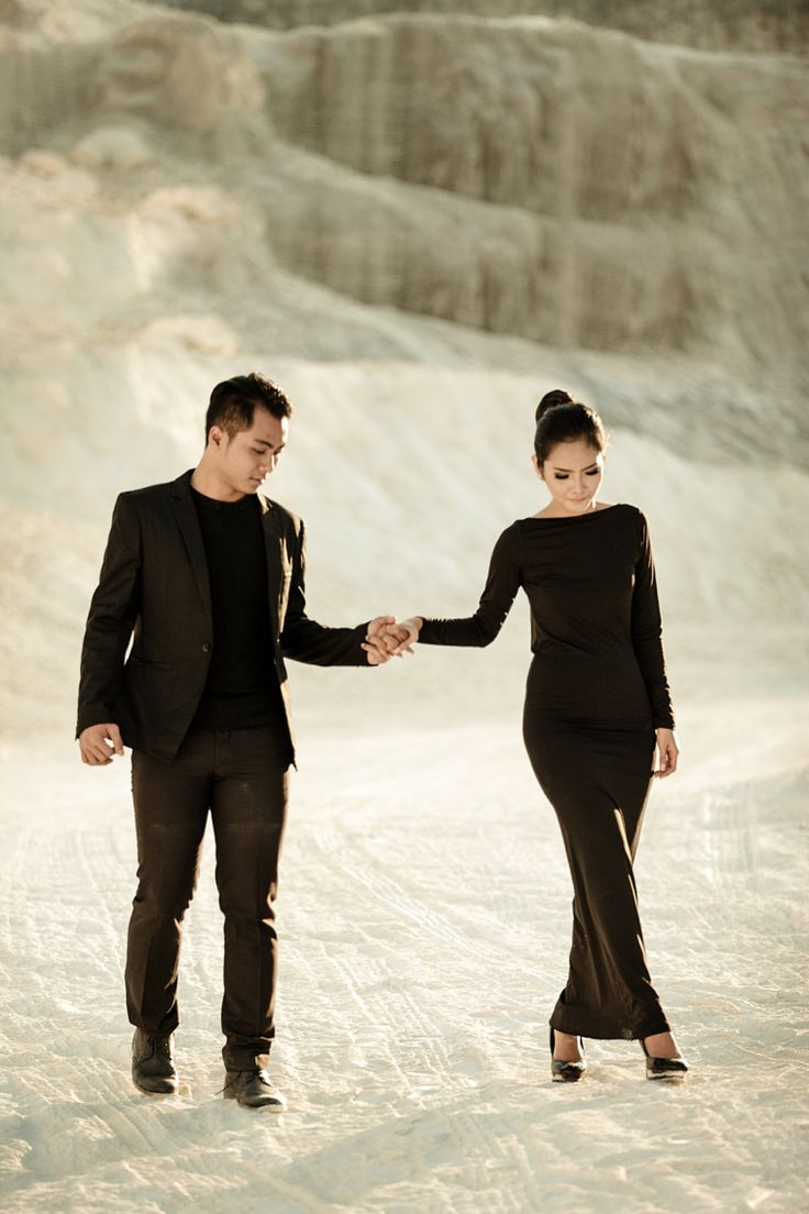 Can I walk with you ? as your wife ?    #simpleblack #blackprewedding #classicblack #sexyback