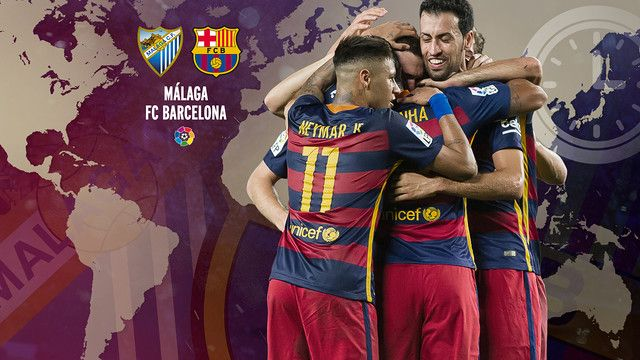 When and where to watch this weekend's La Liga match between Málaga CF and FC Barcelona
