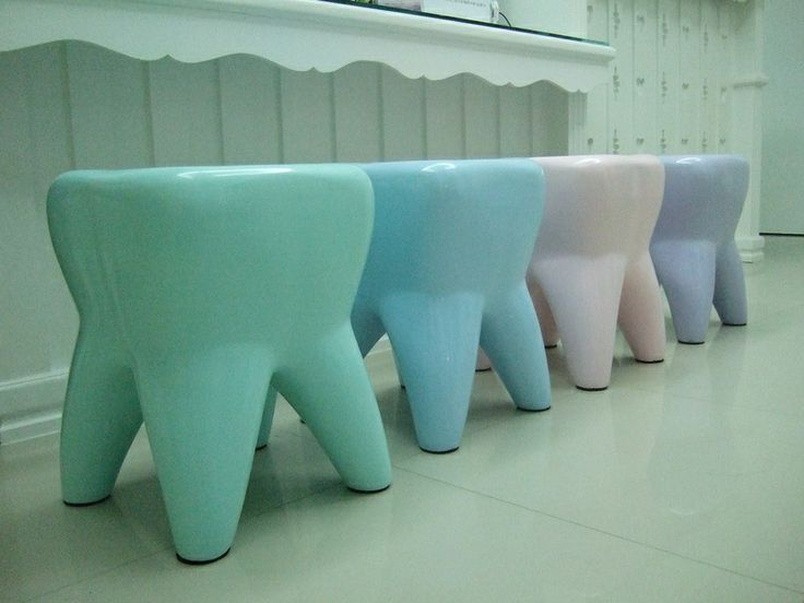 Tooth stools!