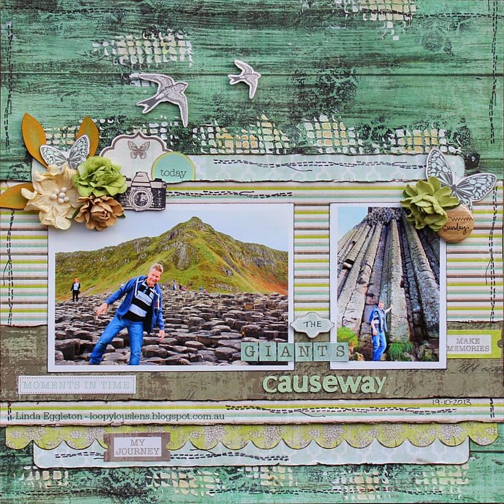 Kaisercraft - Honey Chai - Linda Eggleton - for All About Scrapbooks/1st April Stuck sketch