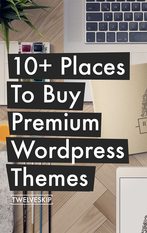 Where To Buy WordPress Themes?