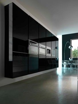 Interesting .... Floating kitchen cabinets