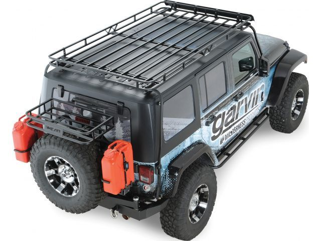 Garvin Industries Wilderness Expedition Rack For Jeep® Wrangler Unlimited  JK 4 Door