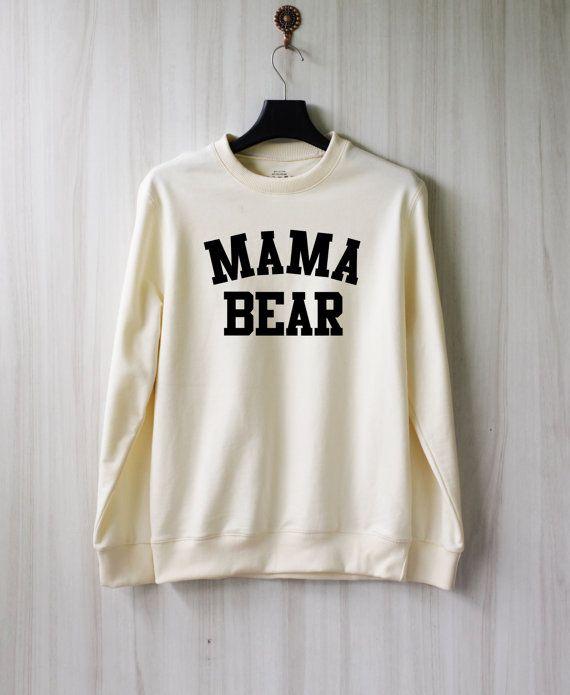 Mama Bear Sweatshirt Sweater Shirt  Size XS S M L XL by SaBuy