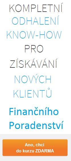 Miliónová příležitost pro Finanční Poradce