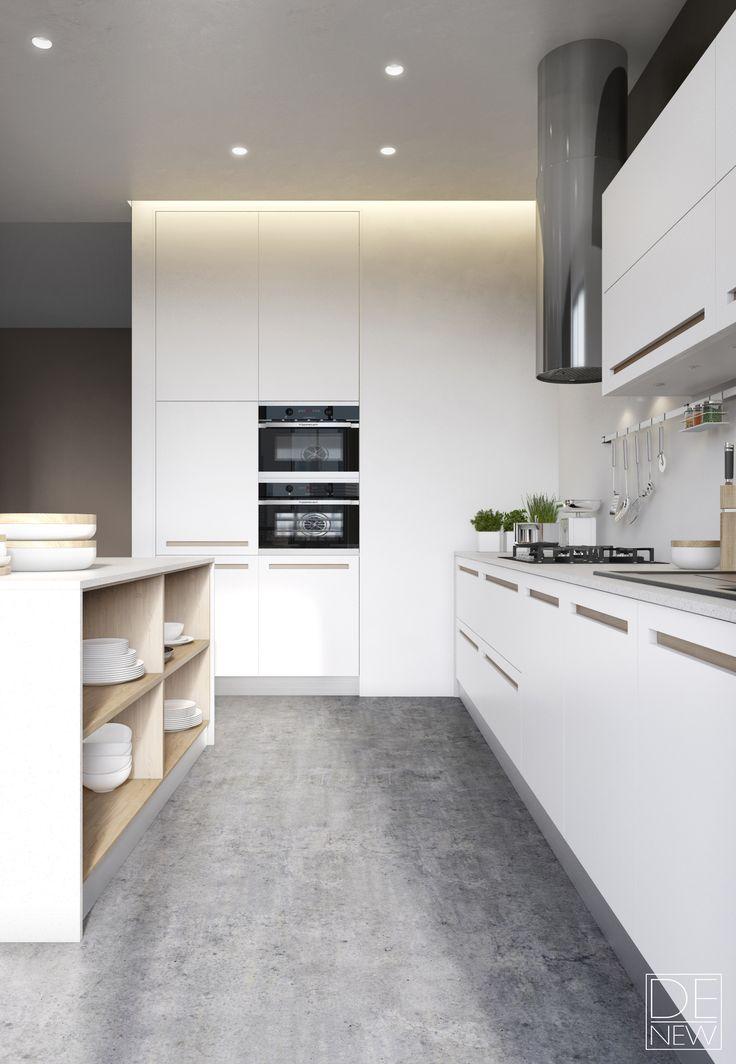 Grau das studio küchen vorratskammern moderne küchen house ideas wohnzimer innenarchitektur ideen für die küche möbelknöpfe