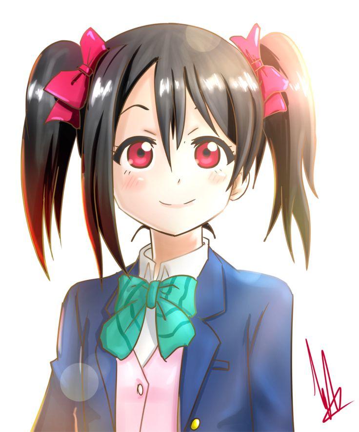 face Nico yazawa
