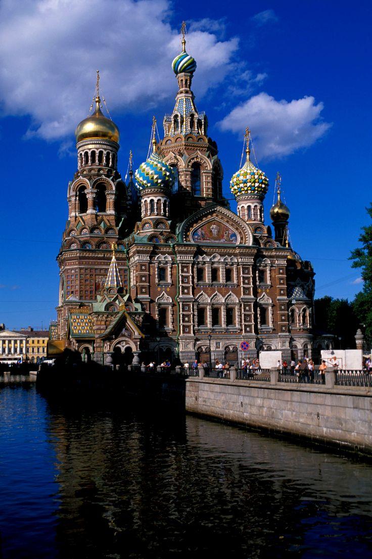 Cathédrale Basile-le-Bienheureux, Place rouge, Saint Petersbourg #culture…