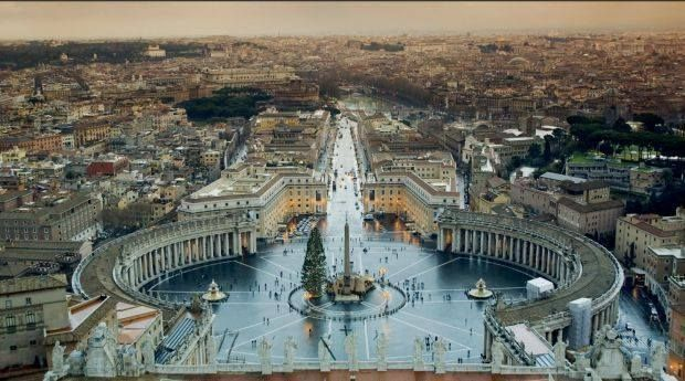 FROM 1000 PLACES TO SEE BEFORE YOU DIE 2017    ST. PETER'S SQUARE VATICAN CITY ROME ITALY  St. Peter's Basilica first constructed in the 4th century on the site where St. Peter was crucified was lavishly embellished by the greatest artistic talents of the 16th and 17th centuries. Vatican City is the world's smallest sovereign state and beyond its role as epicenter of Roman Catholicism it is home to one of the world's greatest collections of art and architecture.   Wow!! Can't wait to go here…