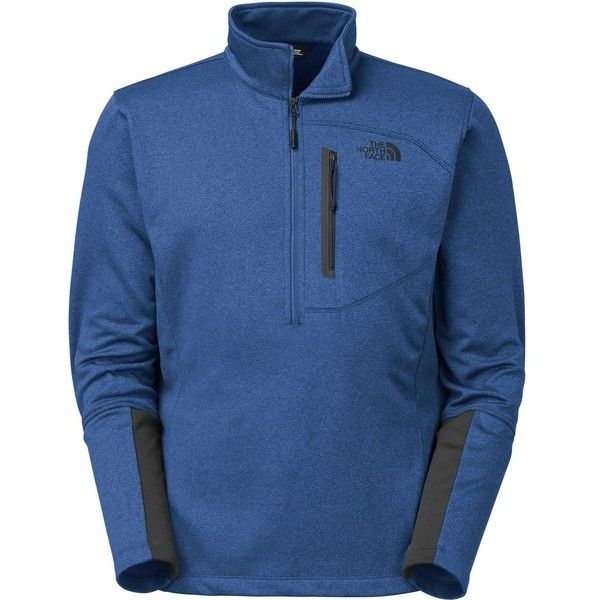 The North Face Canyonlands Fleece Pullover Jacket - 1/2-Zip (1 090 UAH) ❤ liked on Polyvore featuring men's fashion, men's clothing, men's outerwear, men's jackets, mens half zip pullover, mens fleece jacket, mens jackets and mens pullover jacket