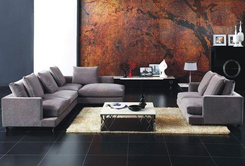 minimalist gray sectional sofa 2013