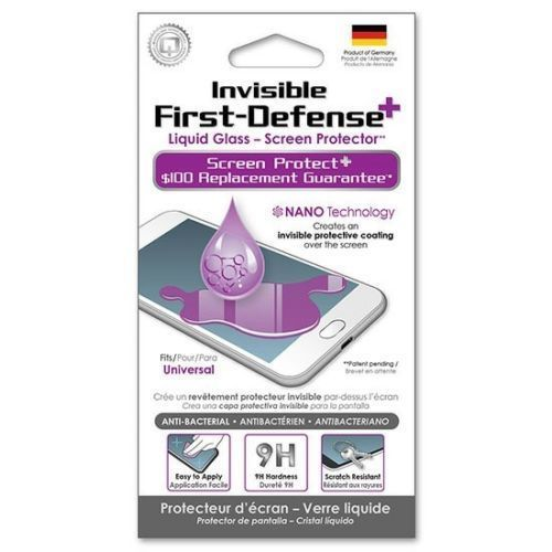 IPHONE OR SAMSUNG GALXY QMADIX LIQUID GLASS SCREEN PROTECTOR NANO TECH. $100 WAR #Qmadix