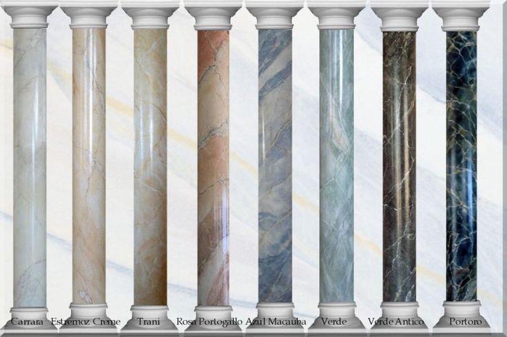 Marmormalerei – Illusionen mit Farbe