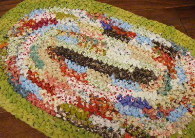 Craft rug Pantyhose