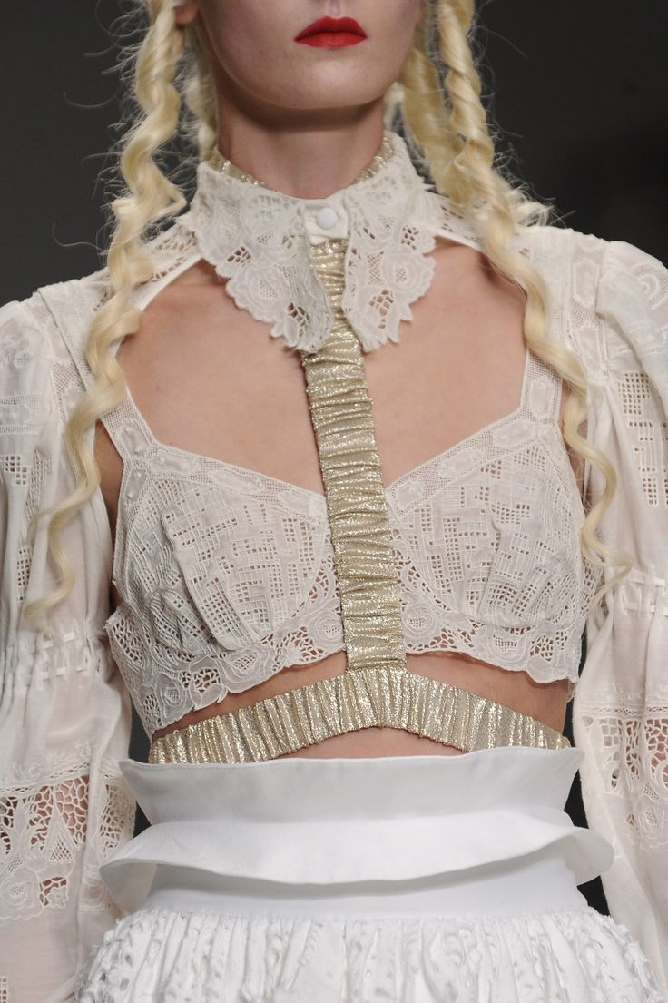 Meadham Kirchhoff Details S/S '14