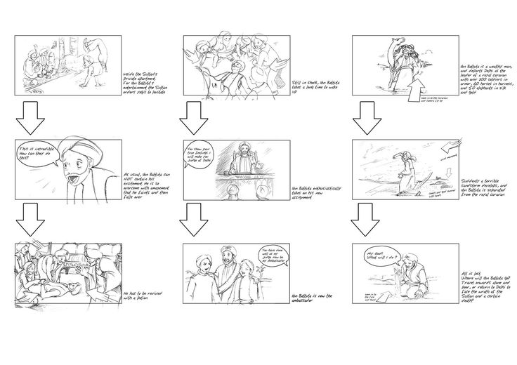 Super Hero Trailer Part   Story Board    Hero