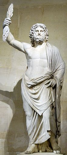 Zeus is the sky and thunder god in ancient Greek religion, who ruled as king of the gods of Mount Olympus.