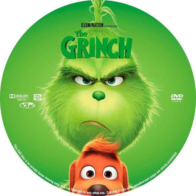 The Grinch Dvd Label Dvd Label The Grinch Dvd Grinch