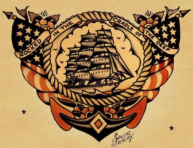 The Selvedge Yard: NORMAN COLLINS | LEGENDARY TATTOOIST & CLASS-A PIRATE AKA SAILOR JERRY